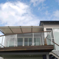 Contemporary Deck by Outrigger Awnings and Sails, Sydney