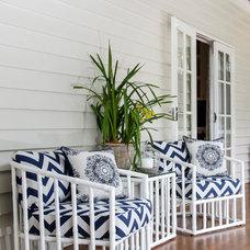 Beach Style Deck by Highgate House