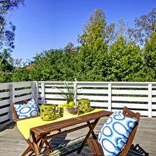 Beach Style Patio by DC Redesign Home Staging & Design Stylist