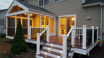 Bellingham deck & sunroom