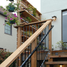 Traditional Deck by Canyon Design Build
