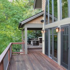 Craftsman Deck by Living Stone Construction, Inc.