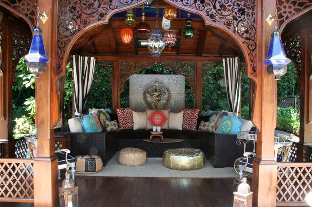 Asian Deck by Woodson & Rummerfield's House of Design