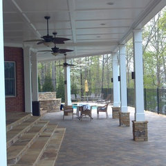 traditional patio by Decks-By-Design