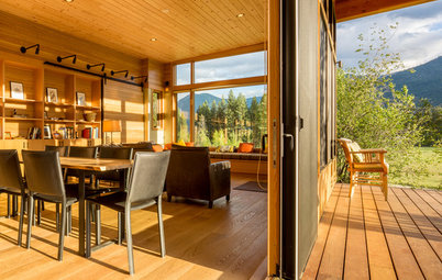 USA Houzz: Rusticity Rules in an Alpine Retreat