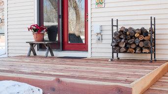 Billings Redwood Deck