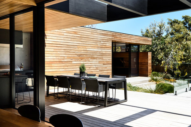 Contemporary Deck by Acre