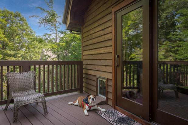 Superb Rustic Deck by VPC Builders LLC