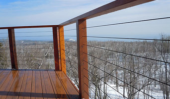 """Blue Skies"" Deck with Mountain View"