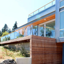 """""""Glacier"""" Glass/Panel Railings by AGS Stainless"""