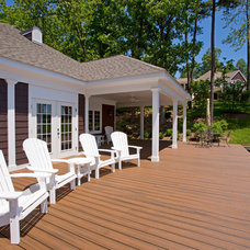 Traditional Deck by KohlMark Architects and Builders