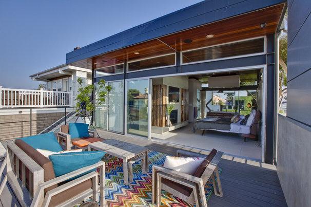 Modern Deck Boiler Residence