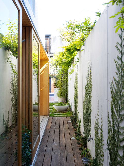 Narrow Deck Home Design Ideas, Pictures, Remodel And Decor