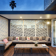 Contemporary Deck by LSA Architects