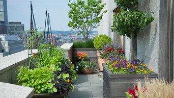 Boston, MA Penthouse Rooftop Garden