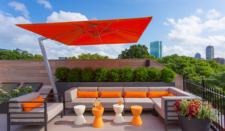 Brolly Ideas for Your Balcony