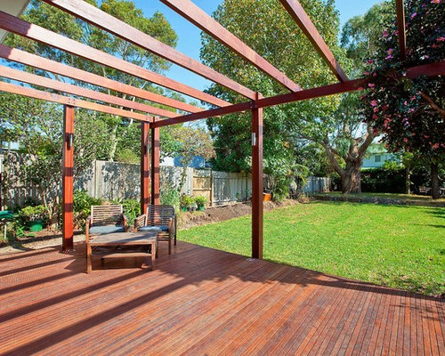 Large pergola home design ideas pictures remodel and decor for Pergola images houzz