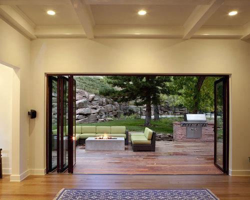 Folding Patio Door Home Design Ideas Pictures Remodel