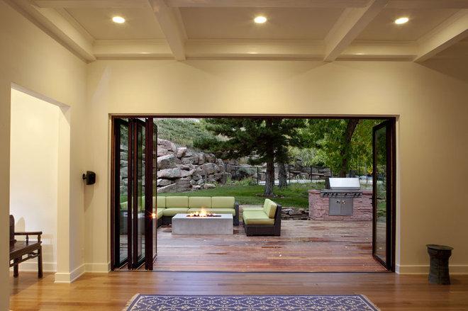 Modern Deck by Melton Design Build