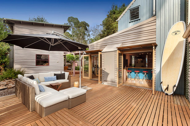 Beach Style Deck by Inspace