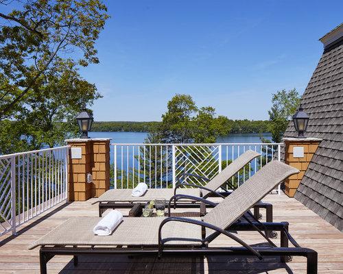 photos et id es d co de grandes terrasses bord de mer. Black Bedroom Furniture Sets. Home Design Ideas