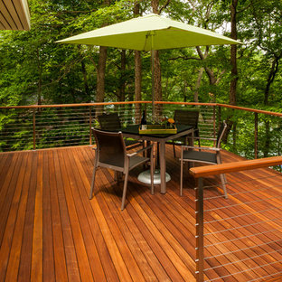 This is an example of a contemporary deck in DC Metro.