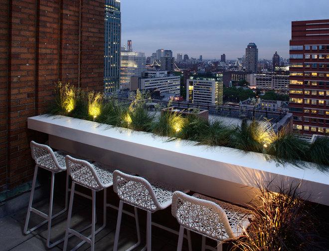 Contemporary Deck by Magdalena Keck Interior Design