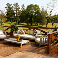 Farmhouse Deck by BLACK & POOLE