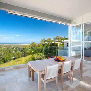 Design ideas for a beach style deck in Sunshine Coast.