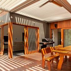 Contemporary Deck by Sanctum Design