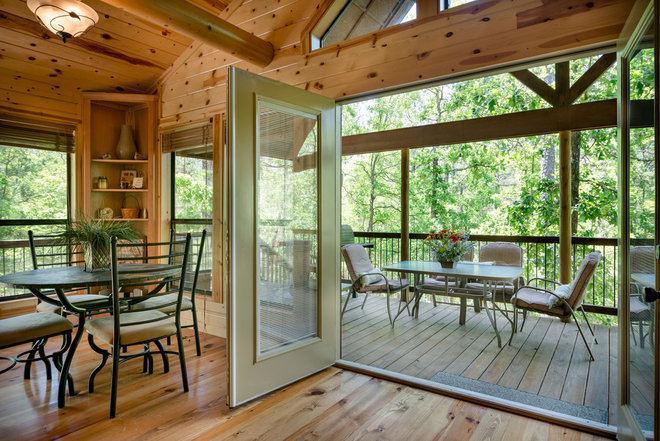 Rustic Deck by Jason Wallace Photography