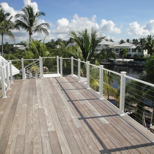 Cable Railing - Beach Style - Deck - Tampa - by Mullet's