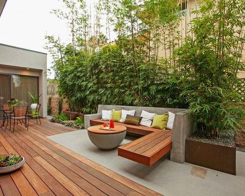 Billeder og inspiration til beton terrasse og altan
