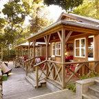 Dc Log Cabin Hideaway Rustic Deck Dc Metro By