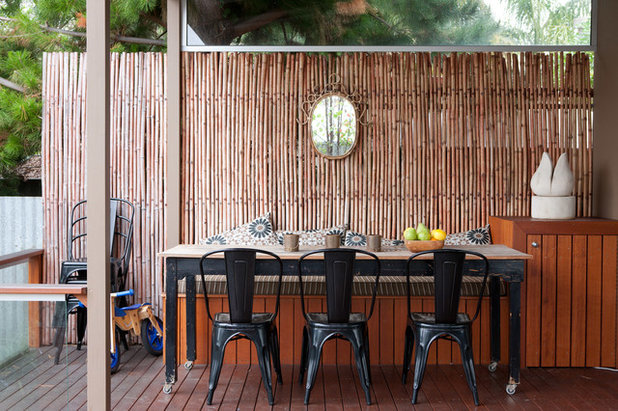 Eclectic Deck by One Small Room - OSR Interiors & Building Design
