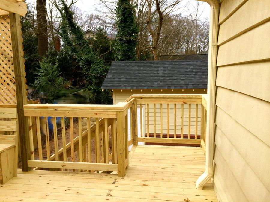 Candler Park- Garage/Deck