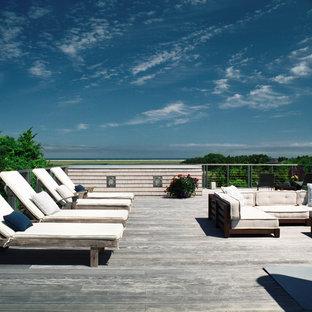 Esempio di terrazze e balconi costieri