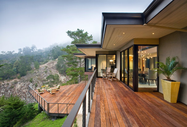 Contemporary Deck by Dan Curran Architecture, A.I.A.