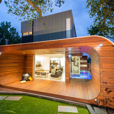 Contemporary Deck by Dig Design