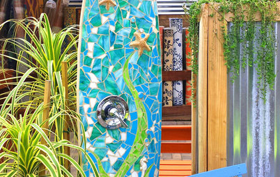 Photo Flip: 50 Cool Ideas for Outdoor Showers