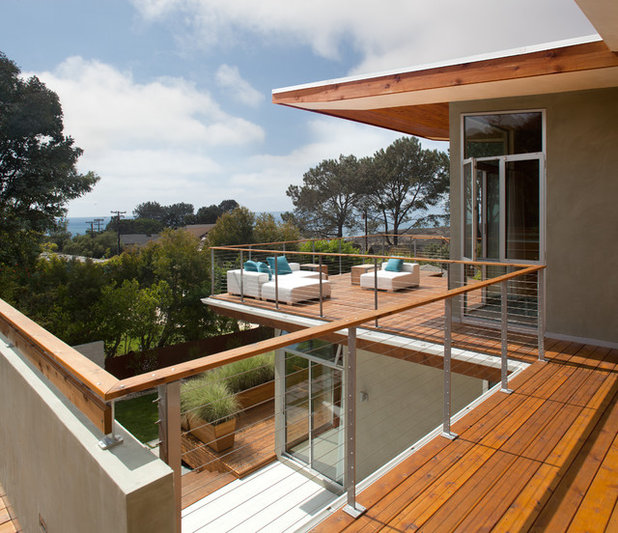Contemporary Deck by Architect  Heather Johnston