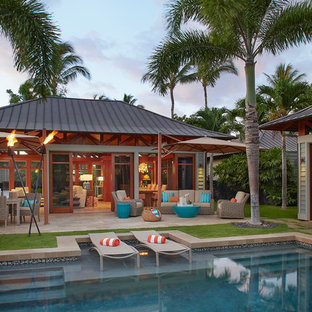 Inspiration for a coastal deck remodel in Hawaii