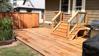 Cedar Deck and Fence