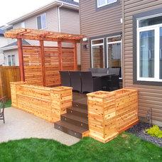 Craftsman Deck by Edmonton Custom Decks