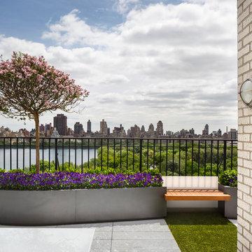 Central Park West Penthouse Terrace