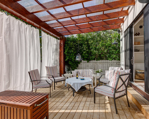 SaveEmail - Best Pergola Curtains Design Ideas & Remodel Pictures Houzz