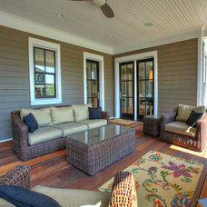 Traditional Deck by Burrus Architecture & Construction, LLC