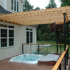 Eclectic Deck by Archadeck of Central Connecticut