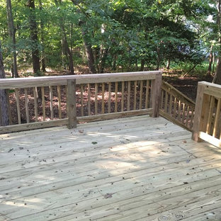 Inspiration for a timeless deck remodel in Richmond