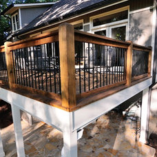 Traditional Deck by Renew Properties